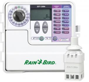 Rainbird sprinkler timer installed by our lawn irrigation contractors